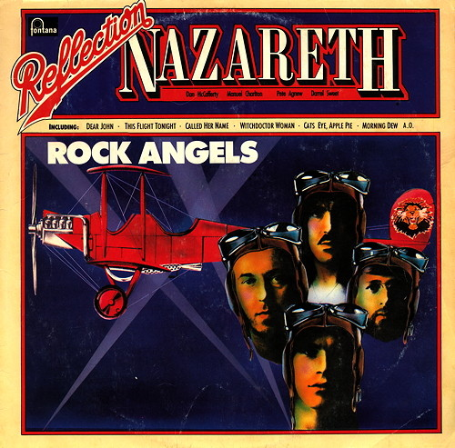 Nazareth (1971 - 2016) LP CD (bootleg)