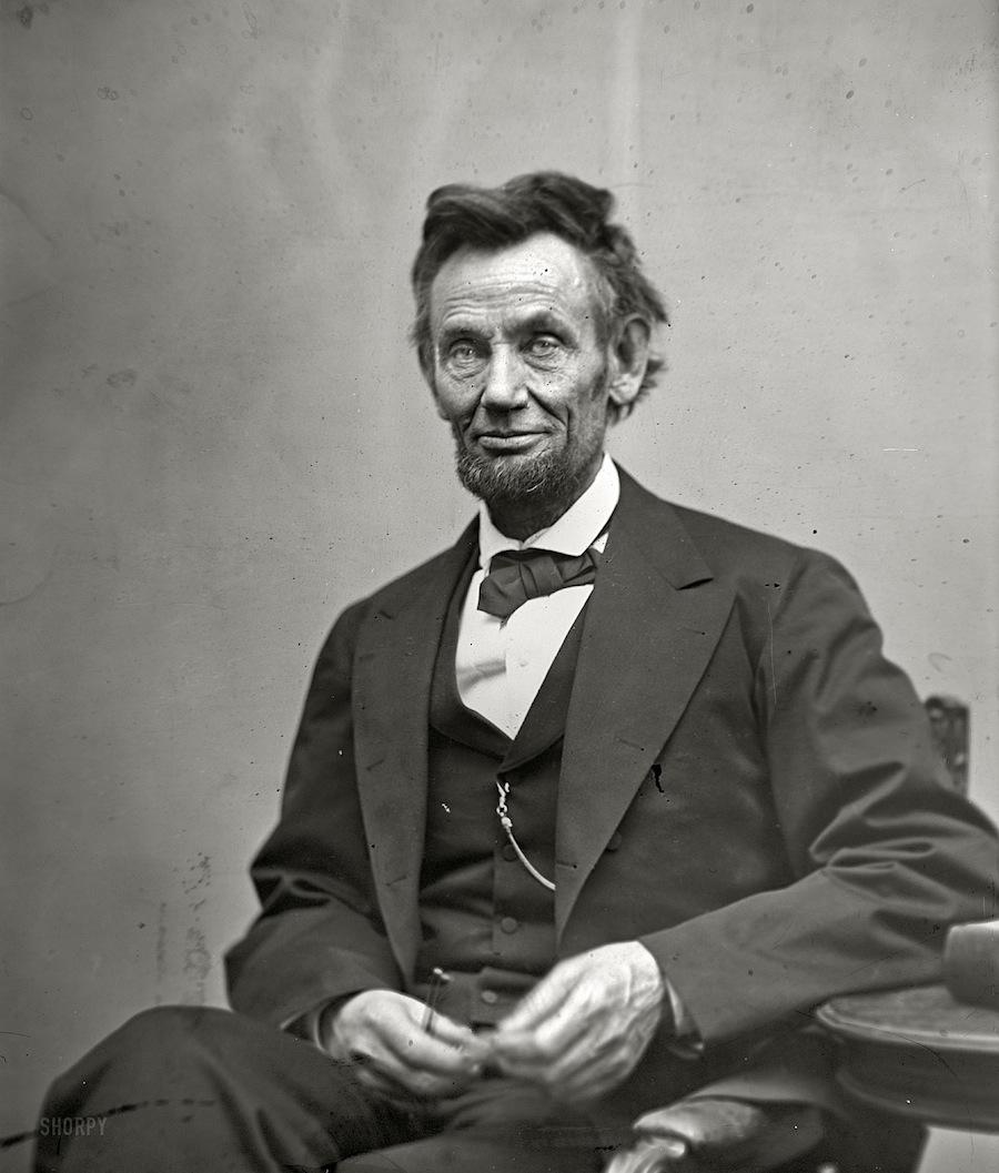 Авраам Линкольн - организатор войны