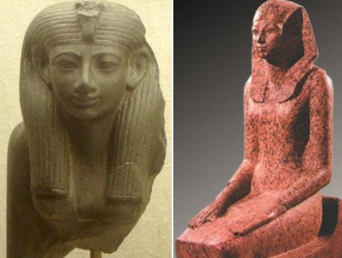 Хатшепсут – правительница Египта | Фото: liveinternet.ru  и historic.ru